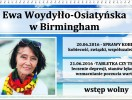Ewa Woydyłło-Osiatyńska w Birmingham