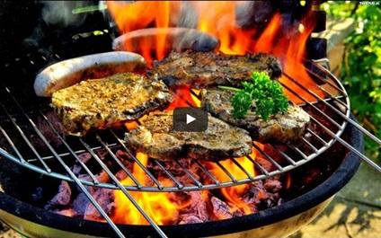 jedzenie z grilla