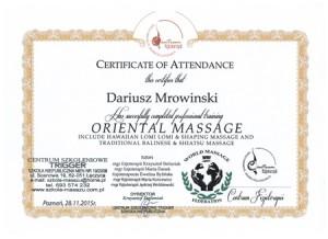 masaż orientalny i relaksacyjny