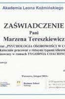 psychologia osobowosci